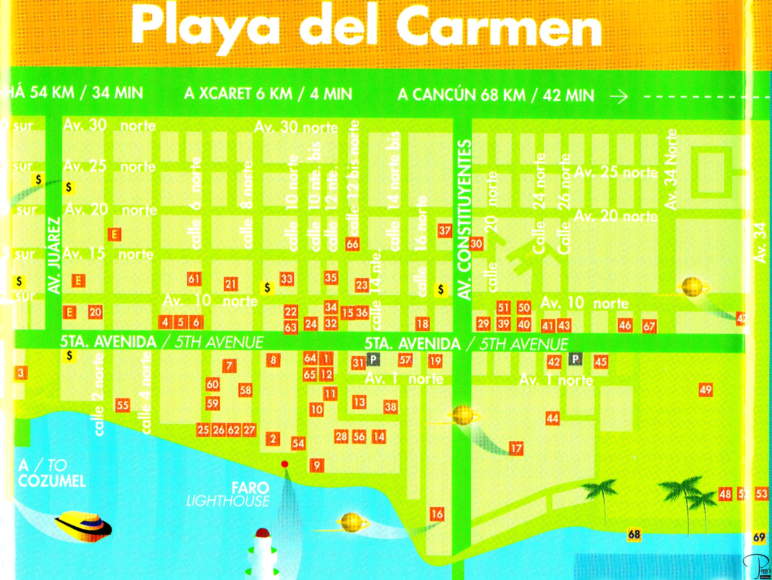 Day 5, Fifth Ave., Playa del Carmen @ Peggy's Photos